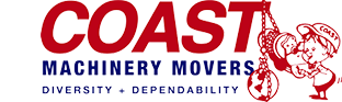 Coast Machinery Movers Logo