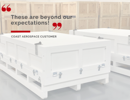 Coast Crating and Packaging tapped for high use Aerospace Shipping Containers