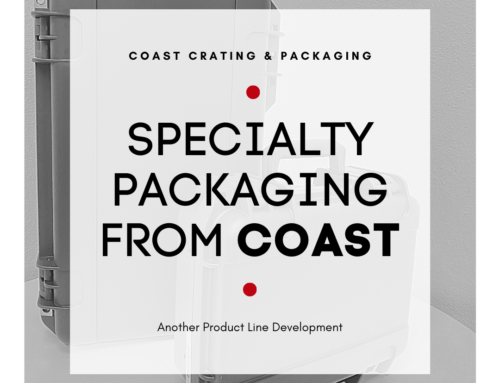 Specialty Packaging from Coast…Another Product Line Development