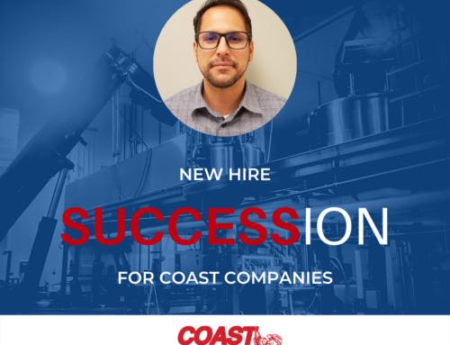 New Hire = SUCCESSion for Coast Companies